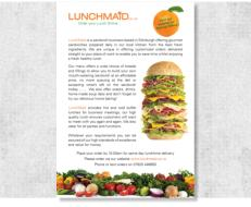 Lunchmaid Flyer