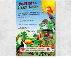 Squirrel Play Land Flyer